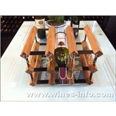波多新凹型紅酒架 9瓶/紅酒展示陳列架