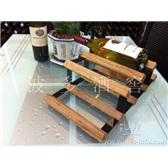 波多不規則小型6瓶裝紅酒儲藏架/紅酒儲藏架